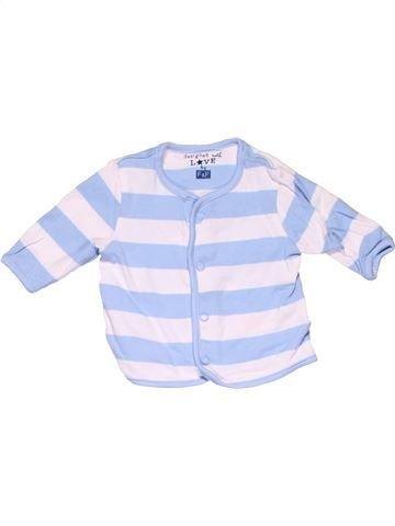 Long sleeve polo shirt unisex F&F white new born winter #10042_1