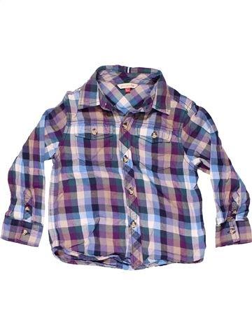 Long sleeve shirt boy JOHN LEWIS gray 5 years winter #10136_1