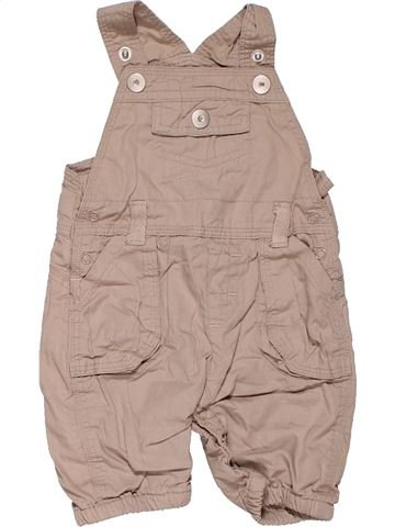 Dungaree boy LITTLE ME beige new born summer #10165_1