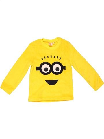 Jumper unisex DESPICABLE ME yellow 5 years winter #1032_1