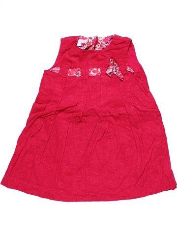 Dress girl MONSOON red 2 years winter #10375_1