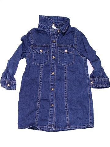 Dress girl RIVER ISLAND blue 18 months winter #10421_1