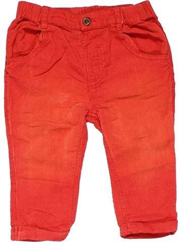 Trouser girl TU red 9 months summer #10757_1