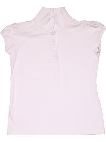 Short sleeve polo shirt boy SCHOOL LIFE white 12 years summer #10759_1