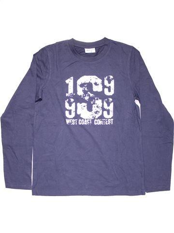 Long sleeve blouse boy ALIVE black 14 years winter #10790_1