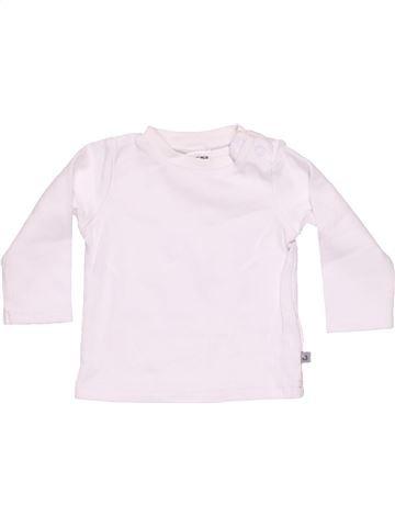 Long sleeve T-shirt unisex JACKY BABY white 6 months summer #11106_1