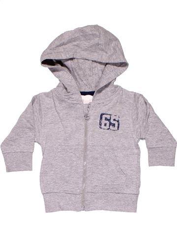 Sweatshirt boy BOYES gray 6 months winter #11283_1
