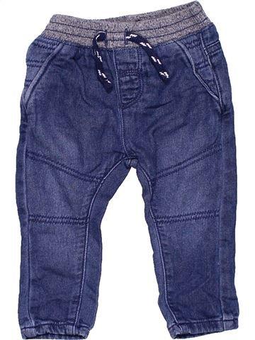 Jeans unisex NUTMEG blue 6 months winter #11287_1