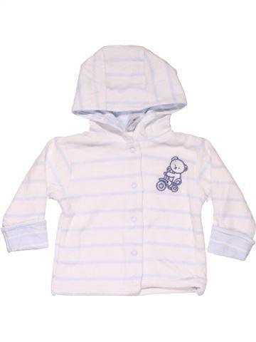 Sweatshirt unisex BABY CLUB white 12 months winter #11445_1