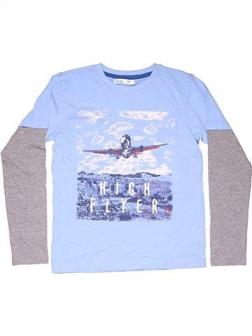 Long sleeve T-shirt boy M&CO blue 12 years summer #11683_1