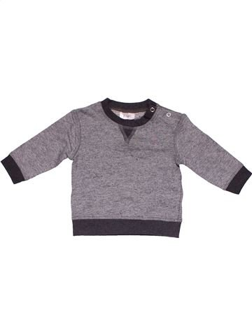 Long sleeve T-shirt boy F&F gray 6 months winter #11908_1