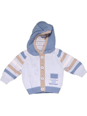 Sweatshirt boy MARKS & SPENCER gray 1 month winter #11962_1