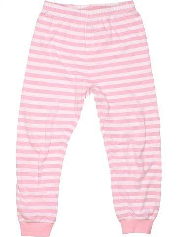 1 piece Pyjama girl GEORGE pink 6 years winter #1204_1