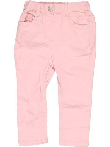 Trouser girl DENIM CO pink 2 years summer #12157_1