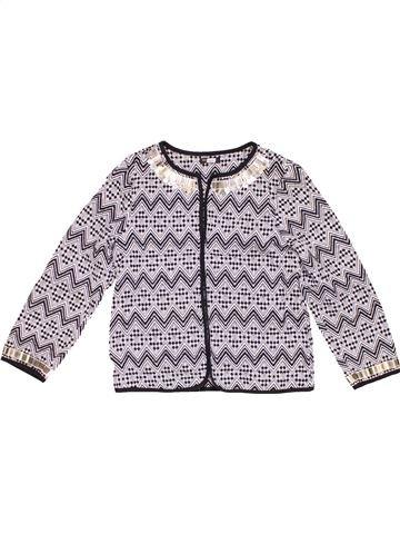 Jacket girl RIVER ISLAND gray 10 years winter #12273_1