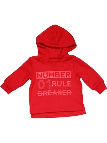 Sweatshirt unisex REBEL red 3 months winter #12556_1