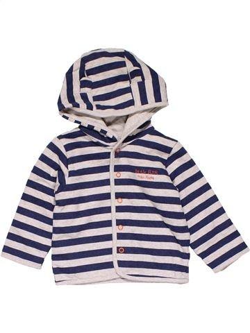 Jacket boy LITTLE RJR blue 9 months winter #12690_1