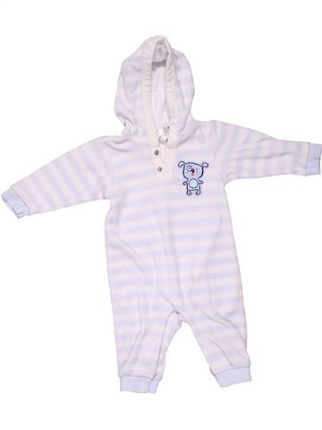 Long jumpsuit unisex BABY CLUB white 3 months winter #1317_1