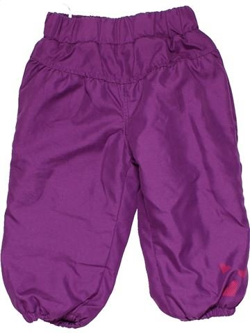 Trouser girl BABY CLUB purple 18 months winter #13414_1