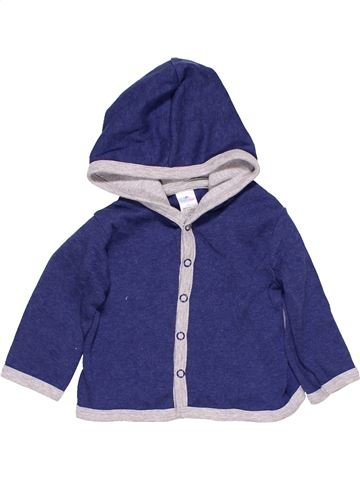 Sweatshirt boy TOPO MINI purple 1 month winter #14083_1