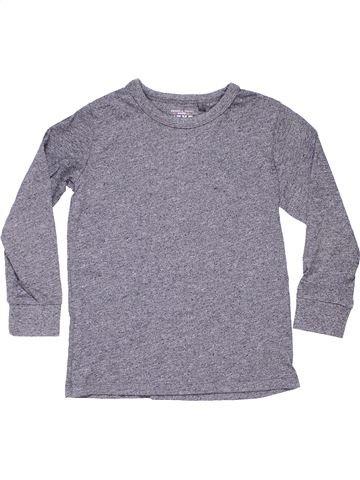 Long sleeve blouse unisex NEXT gray 6 years winter #1432_1