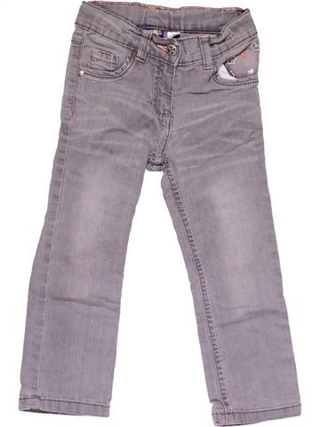 Jeans girl LUPILU gray 3 years summer #14447_1