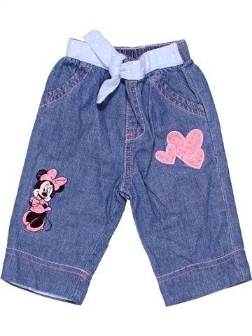 Trouser girl DISNEY BABY blue 3 months winter #1449_1