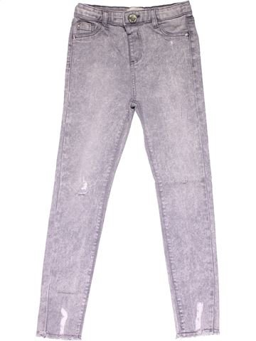 Jeans girl RIVER ISLAND gray 9 years winter #14541_1