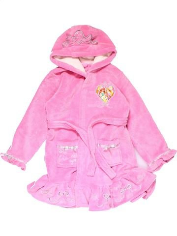 Dressing gown girl DISNEY pink 7 years winter #14737_1