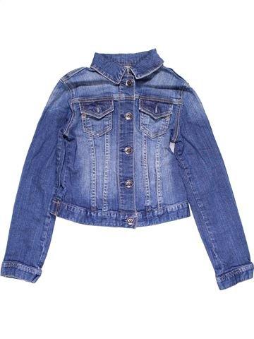 Jacket girl ZARA blue 10 years winter #14919_1