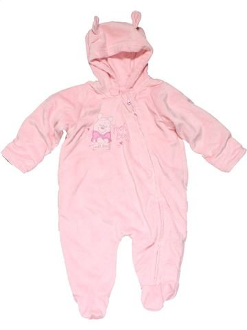 Costume girl GEORGE pink 3 months winter #15367_1