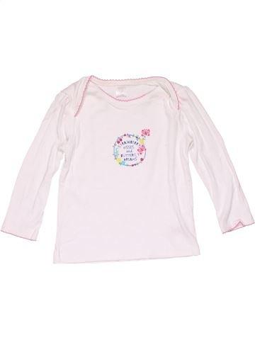Long sleeve blouse girl MINI CLUB white 18 months winter #15422_1