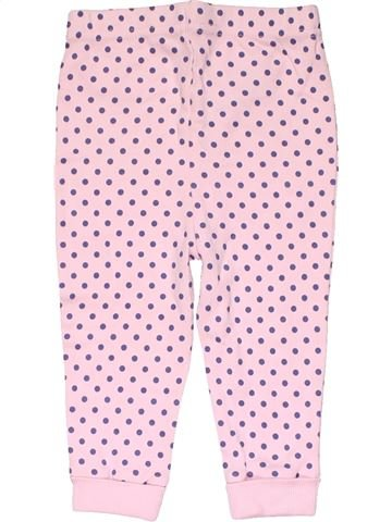 Trouser girl GEORGE pink 9 months winter #15534_1