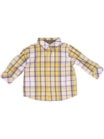 Long sleeve shirt boy BABY CLUB purple 12 months summer #15727_1