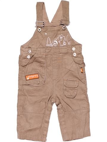 Dungaree boy BUBBLE GUM brown 18 months summer #15736_1