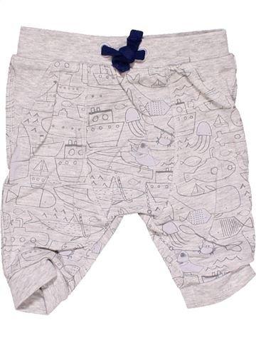1 piece Pyjama boy TU white 1 month winter #16090_1