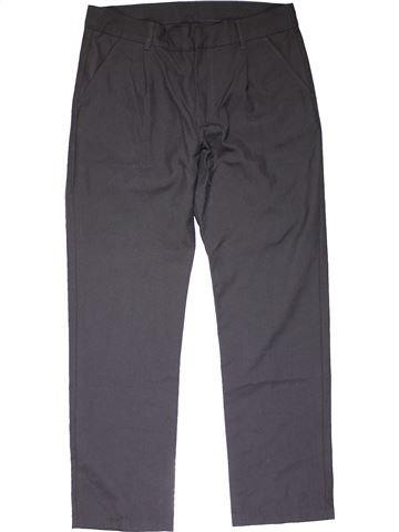 Trouser girl F&F gray 12 years winter #16184_1