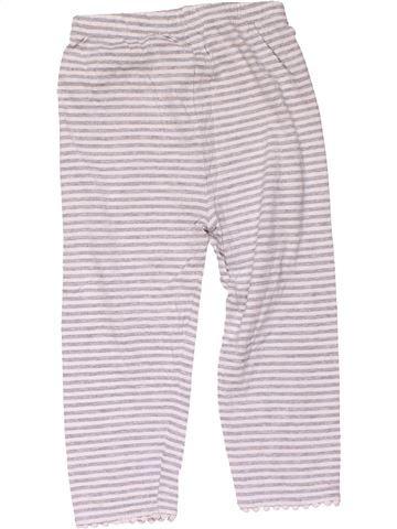 Trouser girl MATALAN white 4 years summer #16216_1