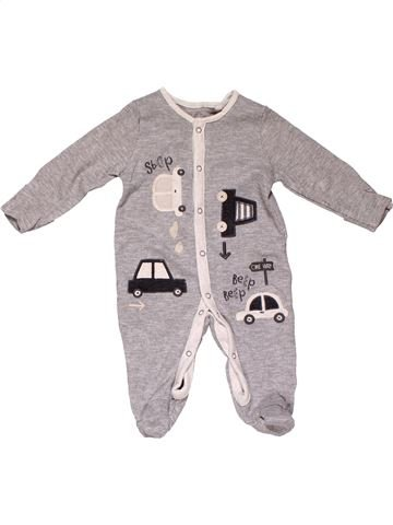Long jumpsuit boy TU gray 3 months winter #16247_1