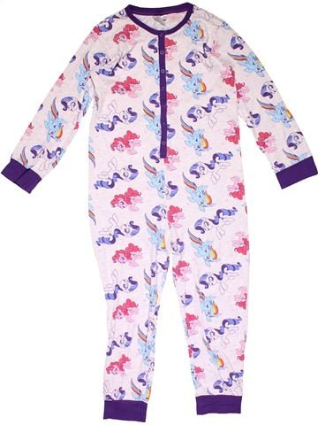 1 piece Pyjama girl MY LITTLE PONY white 8 years winter #16287_1