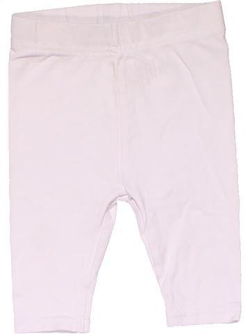 Leggings girl NO BRAND white 6 months winter #16430_1
