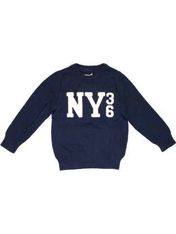 Jumper boy H&M blue 6 years winter #16731_1