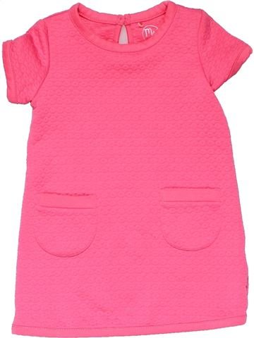 Dress girl YOUNG DIMENSION pink 12 months winter #18274_1