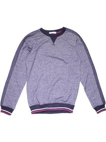 Long sleeve T-shirt boy M&CO gray 12 years winter #18307_1