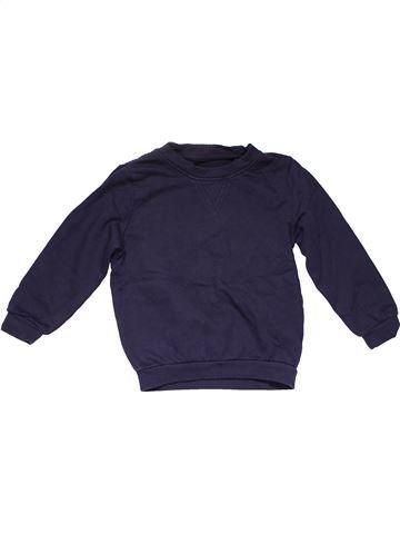 Sweatshirt boy BACK TO SCHOOL blue 6 years winter #18702_1