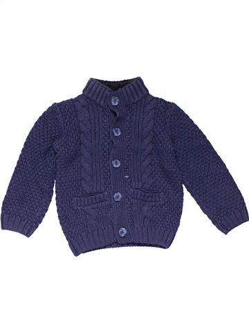 Sweatshirt boy MATALAN blue 2 years winter #18742_1