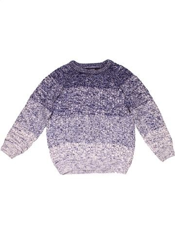 Jumper boy GEORGE purple 6 years winter #18973_1