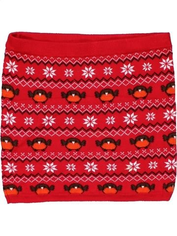 Skirt girl YOUNG DIMENSION red 7 years winter #19328_1