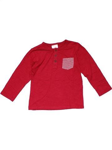 Long sleeve polo shirt boy ZARA red 4 years winter #19776_1