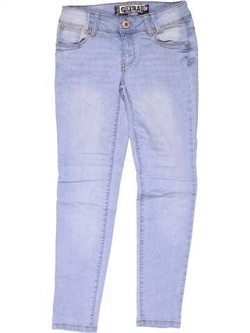 Jeans girl DENIM CO blue 10 years summer #20194_1
